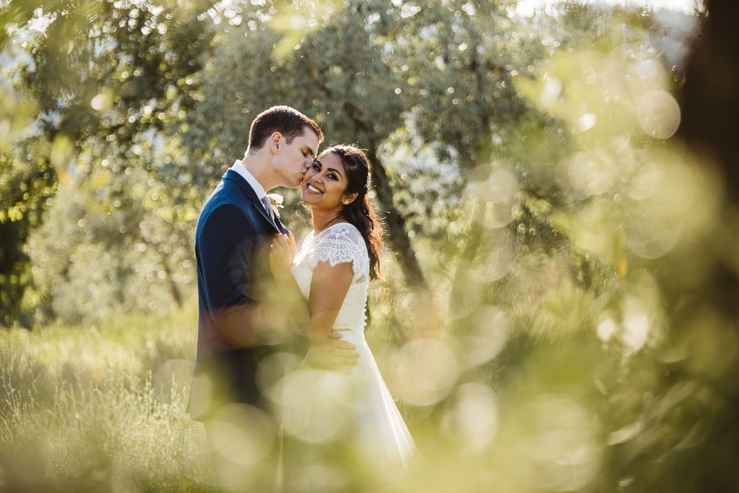 Wedding in Florence on the Chianti Hills in Tuscany Italy